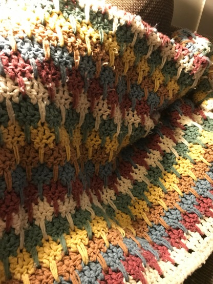crochet afghan - one of my favs