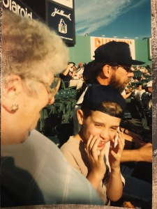 fenway bruce nate and mom