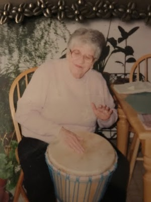 mom drumming
